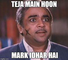 Top 5 evergreen Bollywood villian dialogue... Teja Main hu Mark Idhar hai - Paresh Rawal