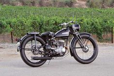 Spoils of Victory: 1948 Harley-Davidson S-125 - Classic American Motorcycles - Motorcycle Classics