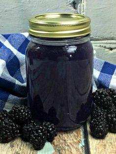 Blackberry Moonshine!