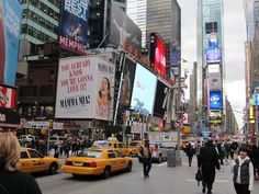 want to go there and experience the energy of NYC...