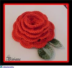 Master class on crochet roses with free instructions