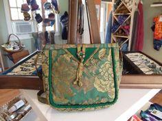 Hand sewn bags by Karen Searles