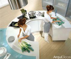 Veja quais as medidas ideais para fazer seu projeto de cozinha!