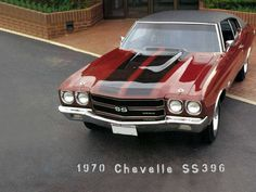 Love the darker red color:   1970 Chevy Chevelle SS muscle classic cars ~ muscle cars never die
