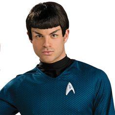 Adulte homme original star trek shirts spock kirk scotty costume déguisement