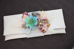 Floral clutch for Sarah | Charlotte Hosten