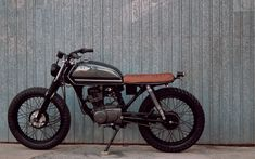 Find out more about a few of my favourite builds - custom scrambler motorcycles like this Ax 100 Cafe Racer, Suzuki Cafe Racer, Cafe Racer Bikes, Cafe Racer Motorcycle, Motorcycle Style, Suzuki Motos, Honda Scrambler, Tracker Motorcycle, Motorcycle Posters