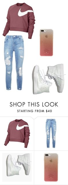 """Untitled #13"" by stogtman on Polyvore featuring NIKE, Madewell and Kate Spade"