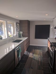IKEA kitchen with Voxtorp cabinets