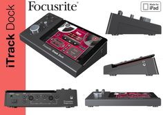In this project we actually had to reverse the design process and recreate it, with the end result being a pre-existing product (the Focusrite iTrack Dock) This was to develop our CAD, Photo-editing a...