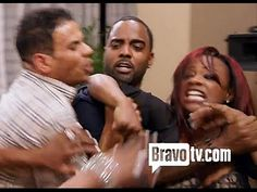 PORSHA ASSAULTED on RHOA SET!! On Set, Tv, Wrestling, Music, Youtube, Lucha Libre, Musica, Musik, Television Set