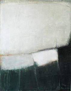 Karine Léger ~ Mouvement des glaces, 2011 (acrylic)