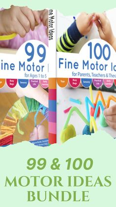 Do you need activities to enhance your kid's fine motor skills? Look no further! Check out the blog for more details on over 99 & 100 Fine Motor Ideas Bundle! These educational bundles will surely help hone and boost your child's creativity, I guarantee! Simply take your pick from this wide range of DIY crafts and homemade activities, it's that easy! What are you waiting for? You know these are calling your name! #finemotorskills #toddler #preschooleractivities Fine Motor Activities For Kids, Interactive Activities, Preschool Activities, Practical Life, Creative Kids, Child Development, Fine Motor Skills, Encouragement, Education