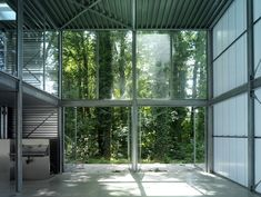 A beautiful atelier for the artist Marijn te Kolsté in the center of the green country seat Wickenburgh, the Netherlands. Designed by Arconiko architects Netherlands, Windows, Country, Green, Artist, Room, Furniture, Beautiful, Design