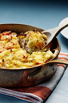 Low Carb (LCHF) Creamy Chicken Casserole from the Diet Doctor website.