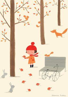 Ekaterina Trukhan #drawing #illustration #art