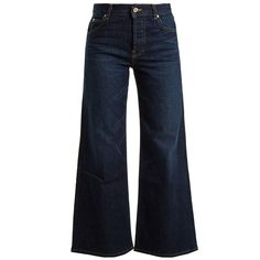 11 Pieces to Get the New '70s Look - THE DARK DENIM FLARE from InStyle.com