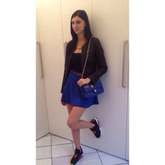 Shop art bag Forever 21 skirt Sneakers reebok fury