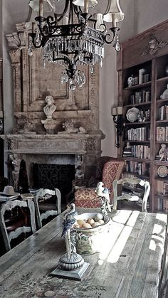 "leodowell: "" French Country interiors"