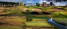Carnoustie is the toughest of all the Open Championship venues and provided plenty of drama over the years. Holes 6, 14, 16 and 18 all demand attention. Carnoustie is raw and brutal, and deserves her place amongst the world's top-30 courses http://www.faraway-fairways.com/?courses=mussleburgh-course #carnoustie #golftour #golfvacation #golfscotland #scottishgolf #golfbreak