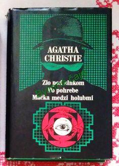 Zlo pod slnkom , Po pohrebe , Mačka medzi holubmi - Agatha Christie Agatha Christie, Books, Livros, Libros, Livres, Book, Book Illustrations, Libri