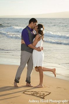 engagement photos indian wedding beach portraits http://maharaniweddings.com/gallery/photo/7058