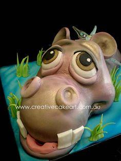 Hippo face details