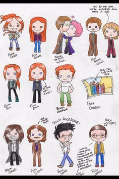 Harry Potter Movie Characters Versus Book Characters