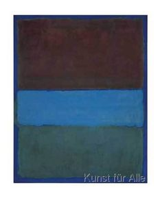 Mark Rothko - No. 61 (Brown, Blue, Brown on Blue)