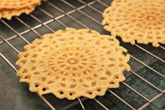 Pizzelles, an Italian Christmas Cookie | Oysters & Pearls