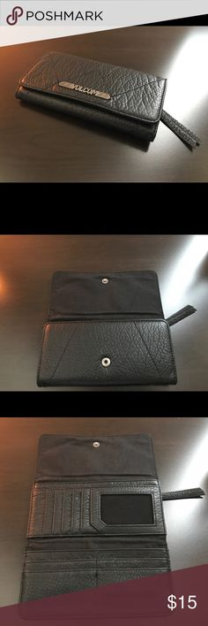 Volcom black wallet Good condition. Volcom Accessories Key & Card Holders