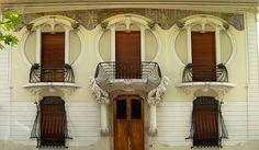 Art Nouveau a Firenze. Villino lampredi via giano della bella