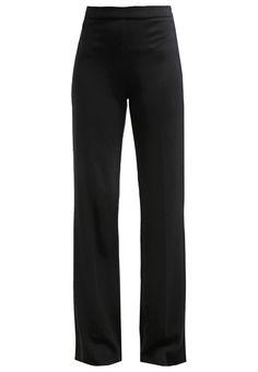 Expresso HELYA Stoffhose black Bekleidung bei Zalando.de | Material Oberstoff: 60% Viskose, 39% Polyester, 1% Elasthan | Bekleidung jetzt versandkostenfrei bei Zalando.de bestellen!