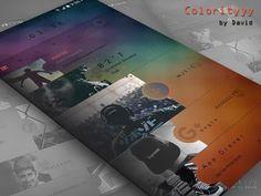 Colorityyy for KLWP: miniatura de captura de pantalla