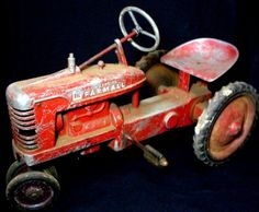 old toy Farmall For Tim M.