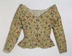 Jacket  Place of origin: England, Great Britain (made)  Date: 1600-25 (made)