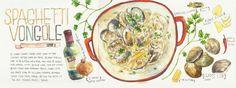Spaghetti Vongole<span class='title_artist'> by heegyum kim</span>