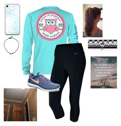 """❤️ My Mom"" by jweber-14 ❤ liked on Polyvore featuring NIKE and bathroom"