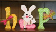 Easter Wood Decorations