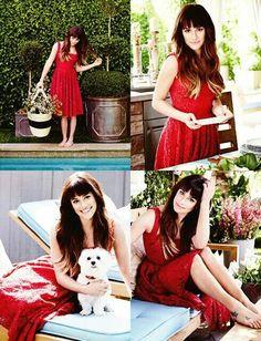"Lea Michele ""Domaine Home"""