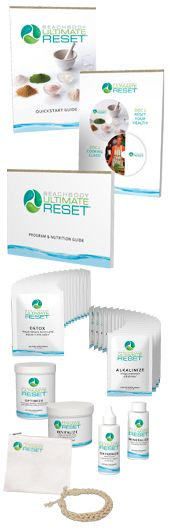 21 day Cleanse!  http://myultimatereset.com/natureinabag