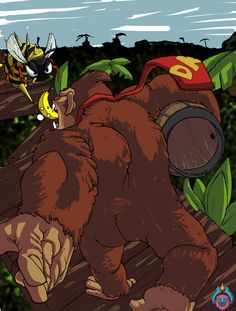 Donkey Kong Country by Dumbfished