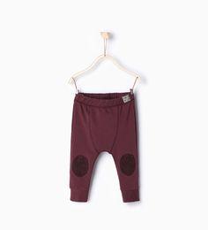 Image 1 of Printed leggings with kneepads. from Zara