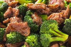 electric skillet - beef and broccoli stir fry