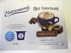 HOT CHOCOLATE MIX ENTENMANNS K CUPS 1 BOXES 12 CUPS PER BOX -- See this great product. Note: It's an affiliate link to Amazon.