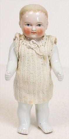 Porzellan-Badepuppe, Frozen Charlie.