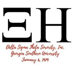 Happy Charter Day to the Xi Eta Chapter of Delta Sigma Theta #AOML