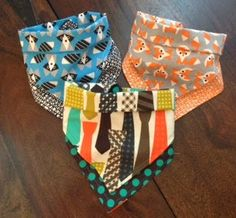 To D.I.Y. For Daily: Oh Baby! DIY Bandana Bibs