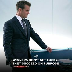 A winner is a lot of things but he's absolutely not lucky. It's years of hard work, late nights , rejections, celebrations and love for the process. Babe Quotes, Badass Quotes, Men Quotes, Harvey Specter Suits, Suits Harvey, Motivational Quotes For Success, Positive Quotes, Inspirational Quotes, Harvey Spectre Zitate