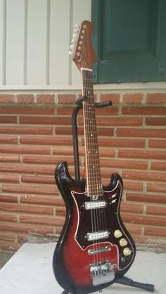 Teisco (unbranded) 1960's Spectrum model 6 string electric guitar